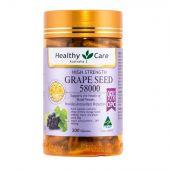 Healthy Care加强版葡萄籽200粒58000mg