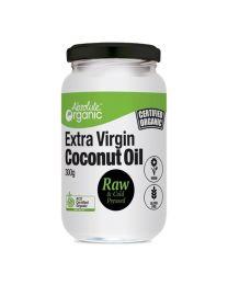 Absolute organic 冷榨天然椰子油 300g