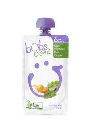 Bubs 有机婴儿辅食 蔬菜米糊米粥 6个月+ 120g
