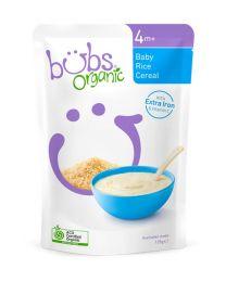 Bubs 有机婴儿辅食 有机大米米糊4个月+  125g