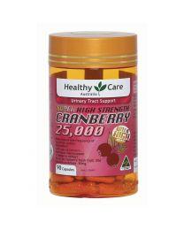 【订单满100澳即可选购】Healthy Care 高浓度蔓越莓胶囊 25000mg