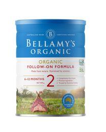 【包邮】Bellamy's 贝拉米有机奶粉900g 2段