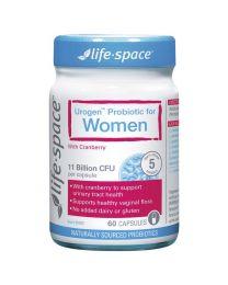 Life Space 女性蔓越莓益生菌 60粒