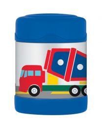 【包邮】Thermos膳魔师焖烧杯 儿童保温迷你罐便当盒290ml 蓝色工程车款