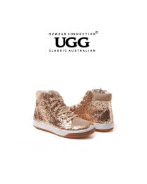 【包邮】KIDS OZWEAR UGG OB193 金色 保暖耐磨防滑儿童鞋童靴(5/6、7/8、9/10、11/12、13/1、1/2) 下单前请联系客服备注尺码哦