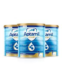【包邮】【三件装】Aptamil 爱他美 金装奶粉 1阶