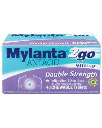 Mylanta 2go antacid 双倍药效健胃消食咀嚼片 48片