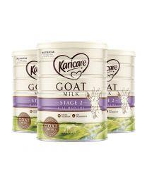 【包邮】【三件装】Karicare 可瑞康金装2段2阶婴儿羊奶粉 900g