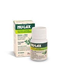 Nu-lax 乐康片添加益生菌 40片