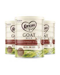 【包邮】【三件装】Karicare 可瑞康新装3段3阶婴儿羊奶粉 900g