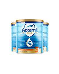 【包邮】【三件装】Aptamil 爱他美 金装奶粉 3阶