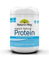 Nature's Way 天然有机速溶蛋白质粉香草味 375g