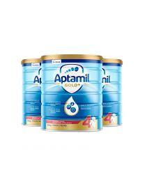 【包邮】【三件装】Aptamil 爱他美 金装奶粉 4阶