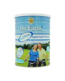 【包邮】OZ Farm Aged Care 中老年奶粉高钙降脂降血糖900g