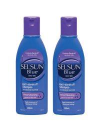 【包邮】【两件装】Selsun Purple去屑深层清洁洗发水 200ml