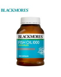 Blackmores 无腥味深海鱼油 1000mg 400粒