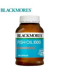 Blackmores 有腥味深海鱼油 400粒