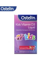 Ostelin Kids Vitamin D Liquid 儿童维生素D滴剂 20ml