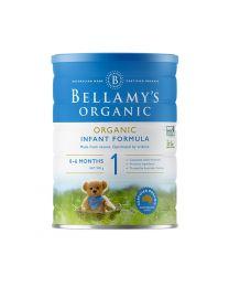 【包邮】Bellamy's 贝拉米有机奶粉900g 1段