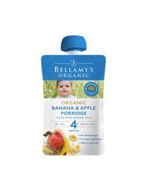 Bellamy 贝拉米 有机 香蕉苹果泥 婴儿辅食 120g 4+