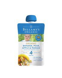 Bellamy贝拉米 婴儿果泥 香蕉梨子芒果 120g