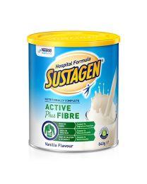 【包邮】Sustagen 雀巢 成人孕妇产妇医院配方奶粉香草味 加纤维 术后恢复 840g