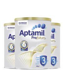 【包邮】【三件装】Aptamil 爱他美 白金装奶粉 3阶