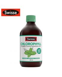 Swisse 排毒养颜液体叶绿素薄荷味 500ml