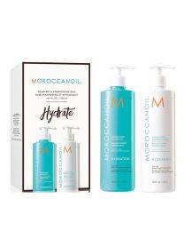 Moroccan Oil 洗发水+护发素套装 保湿系列 500ml