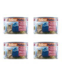 【国内仓】【包邮】K9 Feline Natural - Chicken & Grass-Fed Venison Feast  天然无谷猫罐头-鸡肉&鹿肉170g*4