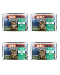 【国内仓】【包邮】K9 Feline Natural - Lamb  Feast  天然无谷猫罐头-羊肉170g*4