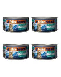 【国内仓】【包邮】K9 Feline Natural - Beef & Hoki  Feast  天然无谷猫罐头-牛肉&鳕鱼85g*4