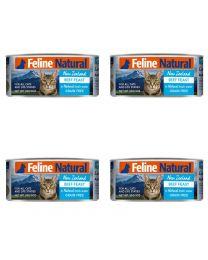 【国内仓】【包邮】K9 Feline Natural - Beef  Feast  天然无谷猫罐头-牛肉85g*4