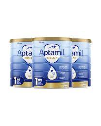 【指定奶粉】【包邮】【三件装】Aptamil 爱他美 金装奶粉 1阶(新包装)