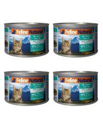 【国内仓】【包邮】K9 Feline Natural - Beef & Hoki  Feast  天然无谷猫罐头-牛肉&鳕鱼170g*4