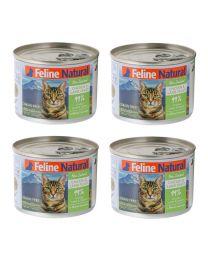 【国内仓】【包邮】K9 Feline Natural - Chicken & Grass-Fed Lamb Feast  天然无谷猫罐头-鸡肉&羊心170g*4