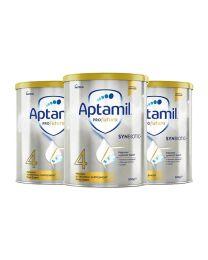 【指定奶粉】【包邮】【三件装】Aptamil 爱他美 白金装奶粉 4阶(新包装)