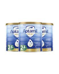 【包邮】【三件装】Aptamil 爱他美 金装奶粉 2阶 (新包装)
