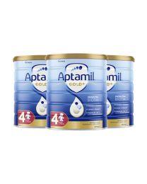 【包邮】【三件装】Aptamil 爱他美 金装奶粉 4阶(新包装)