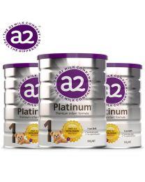【包邮】【三件装】A2 Platinum 白金婴幼儿奶粉 1段 900g