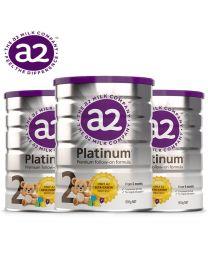 【复活节大促】【包邮】【三件装】A2 Platinum 白金婴幼儿奶粉 2段 900g
