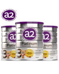 【包邮】【三件装】A2 Platinum 白金婴幼儿奶粉 3段 900g