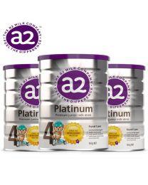 【包邮】【三件装】A2 Platinum 白金婴幼儿奶粉 4段 900g