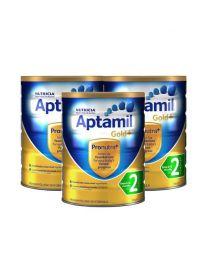 【包邮】【三件装】Aptamil 爱他美 金装奶粉 2阶
