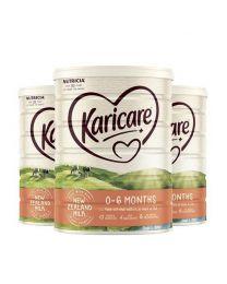 【包邮】【三件装】Karicare 可瑞康牛奶粉 1段 900g (保质期2021.12)