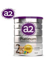 【包邮】A2 Platinum 白金婴幼儿奶粉 2段 900g
