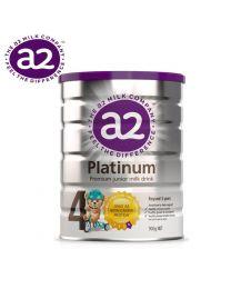 【包邮】A2 Platinum 白金婴幼儿奶粉 4段 900g