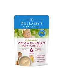 Bellamy's 米糊6+ 苹果肉桂味 125g