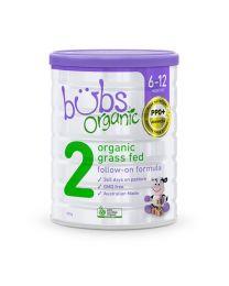 【包邮】Bubs 婴幼儿有机草饲牛奶粉 2段 800g