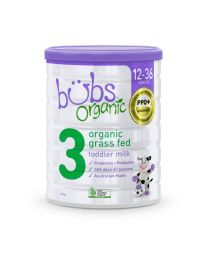 【包邮】Bubs 婴幼儿有机草饲牛奶粉 3段 800g